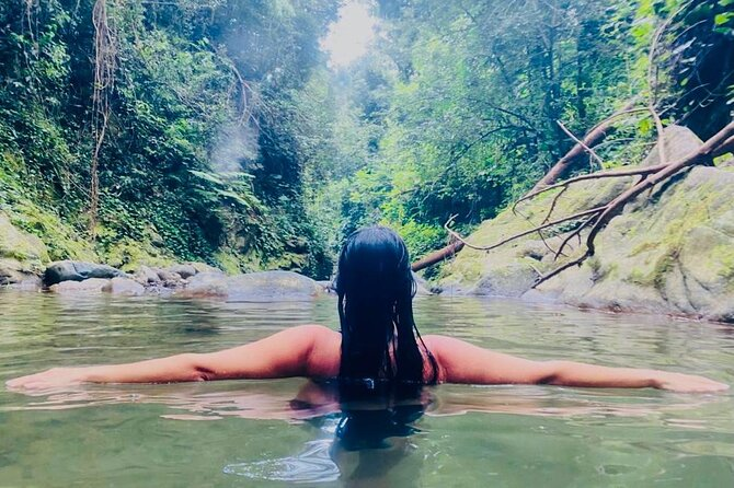 Full-Day Private Wellness Tour of Puerto Rico Waterfalls Hot Springs