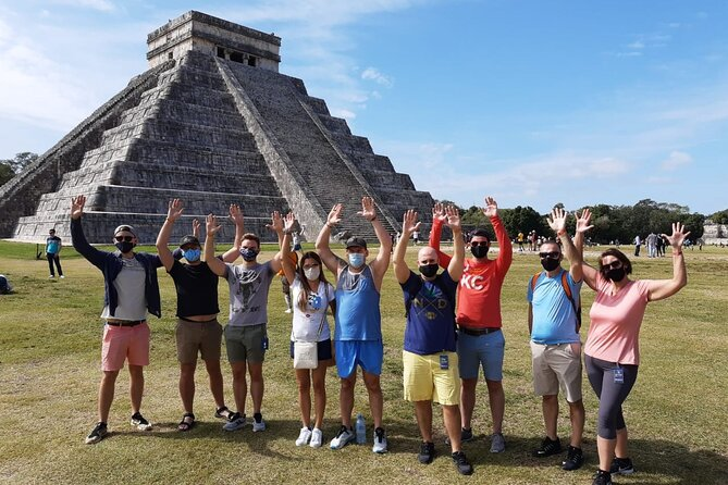 Chichen Itza Sunrise with lunch,Tequila & optional Valladolid, Cenote & Pick up