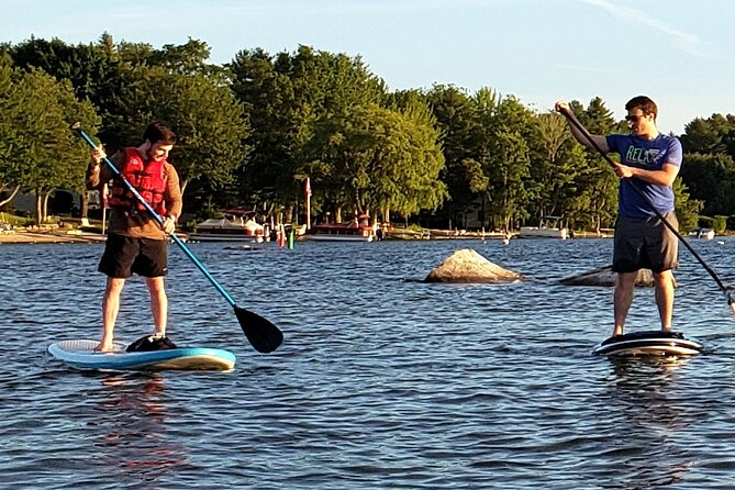 Paddleboard Lesson/ Excursion on Sebago Lake, Maine