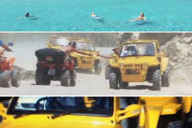 UTV / Mini Jeep Safari Akamas incl.boat trip to the blue Lagoon approx. 7 hours