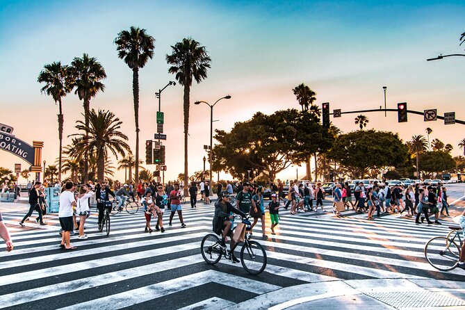 Bike from Santa Monica to Venice with a Private Guide