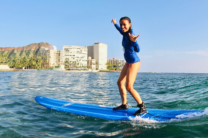 Private Surfing Lesson: Two Hours of Beginner Instruction