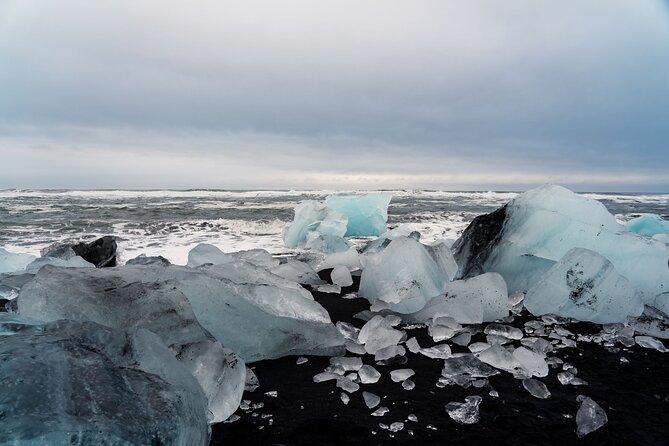Excursión de día completo a la laguna glaciar de Jökulsárlón desde Reikiavik