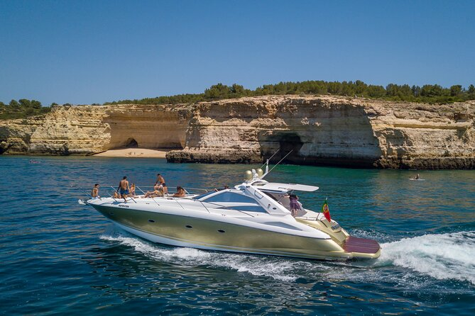 Full-Day Private Cruise in the Algarve Coast by Luxury Yacht