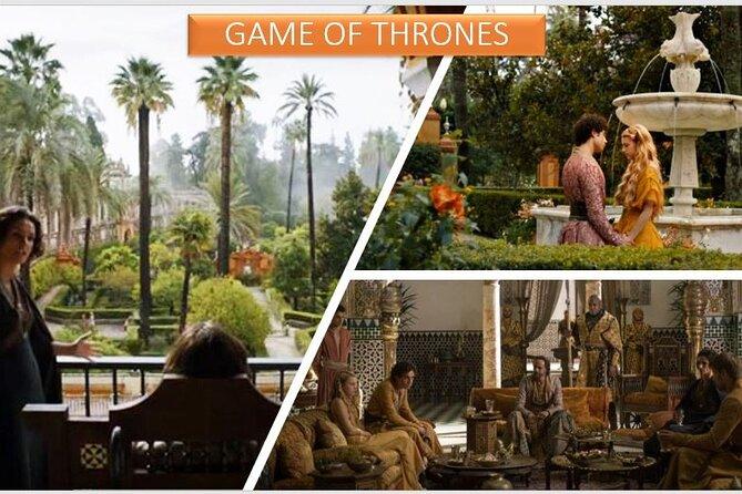 Alcazar, location for Game of Thrones