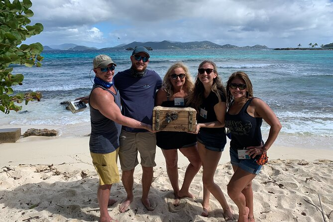 Augmented Reality Secret Agent Treasure Hunt in St Thomas