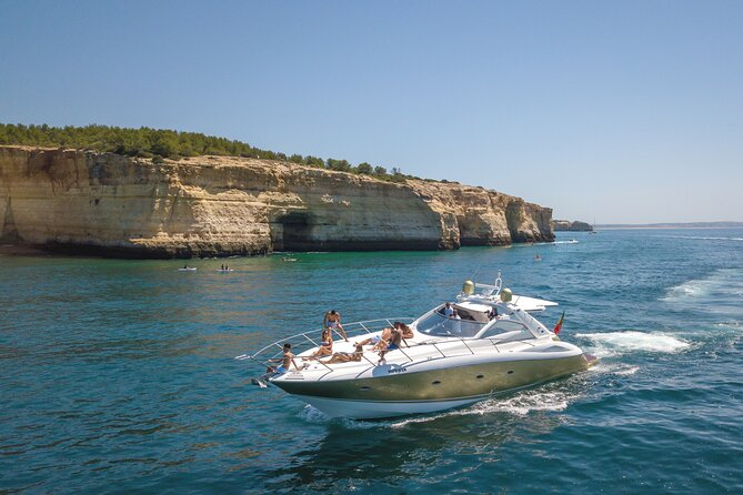 Private Coastline and Dolphins Yacht Cruise from Albufeira
