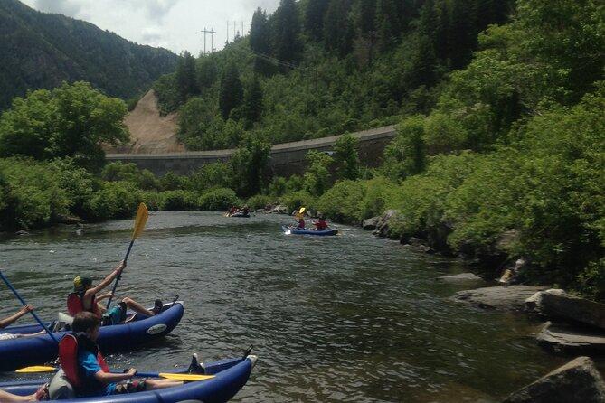 Private Utah River Rafting or Kayaking Excursion from Wallsburg