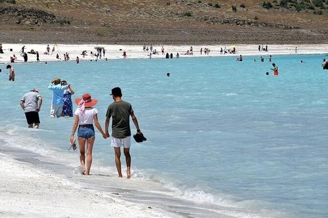 Salda Lake-Pamukkale Tour, Hierapolis Ancient City, Cleopatra Pool from Marmaris