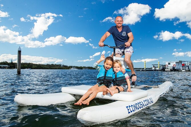 Self Guided Water Bike Tour of the Noosa River