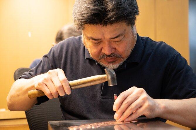 Small-Group Buddhist Altar Metalwork Workshop in Nagoya