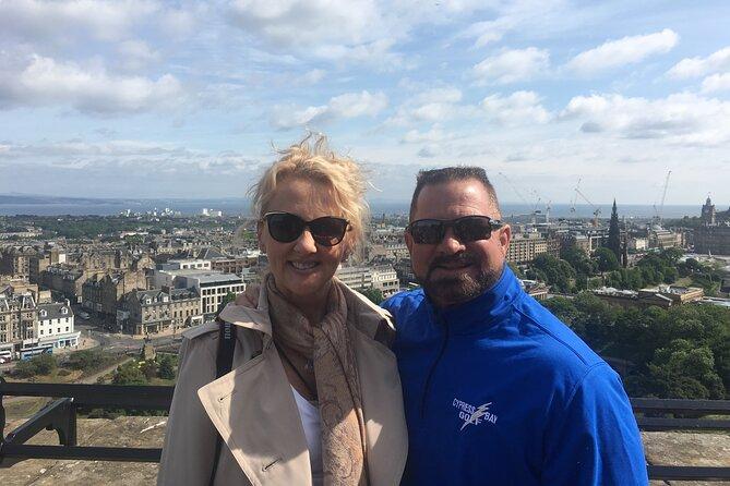 Edinburgh Castle to Arthur's Seat Tour: Private & Custom ★★★★★
