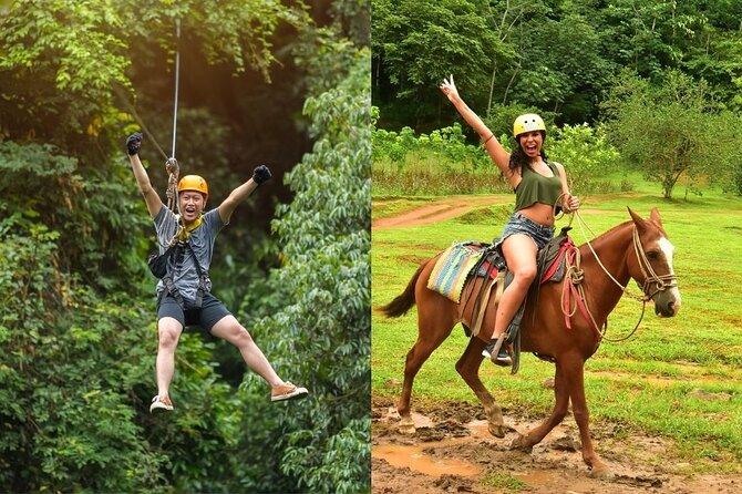 Zipline and Horseback Riding / Jacó Beach