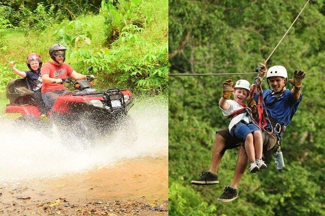 Zipline & ATV Adventure/ Jacó Beach