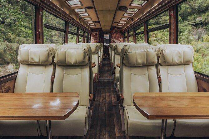 The Voyager Machu Picchu Train by Inca Rail
