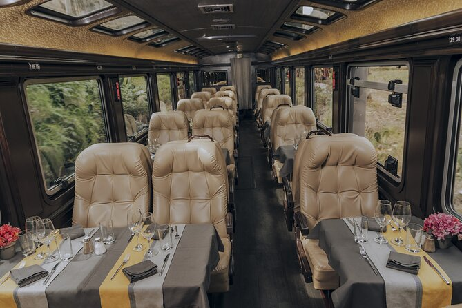 The First Class Machu Picchu Train by Inca Rail
