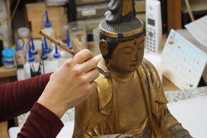 Art of Buddhist Statue Painting Workshop with Seto Street Tour