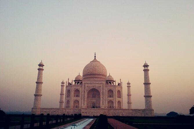 Taj Mahal Sunrise & Sunset overnight Agra tour with return flights