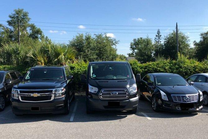 Amber Limousine transfer fleet