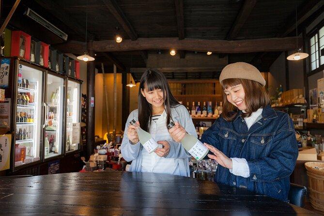 Small-Group Walking Tour of Matsuyama and Minakuchi Brewery