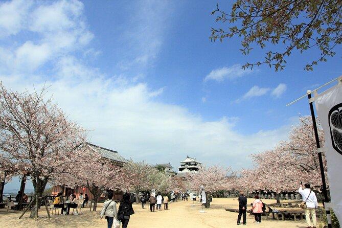 [Town walk] Stroll around Matsuyama Castle and enjoy local shopping