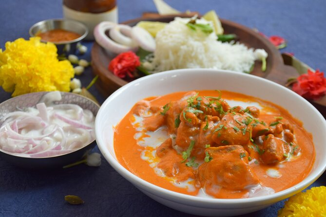 Traveling Spoon Butter Chicken and Naan Private Online Cooking Class