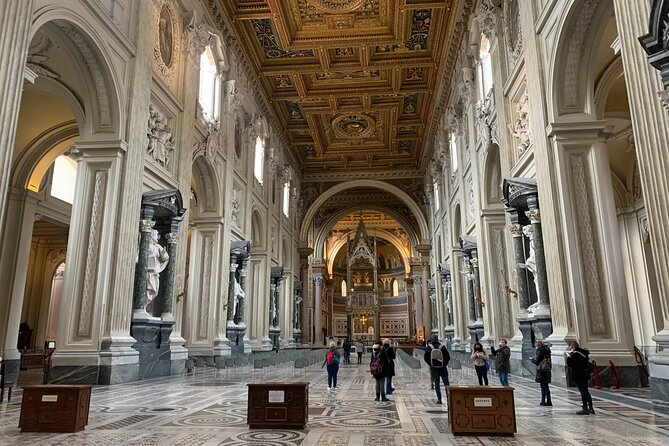 Small-Group Lateran Complex and Holy Stairs Walking Tour