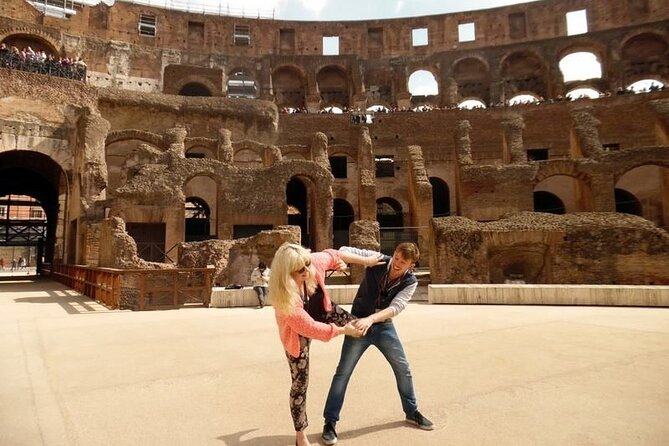 Colosseum Arena Floor Tour with Roman Forum