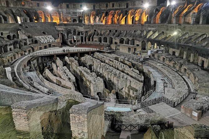 Vip Moonlight Colosseum Tour