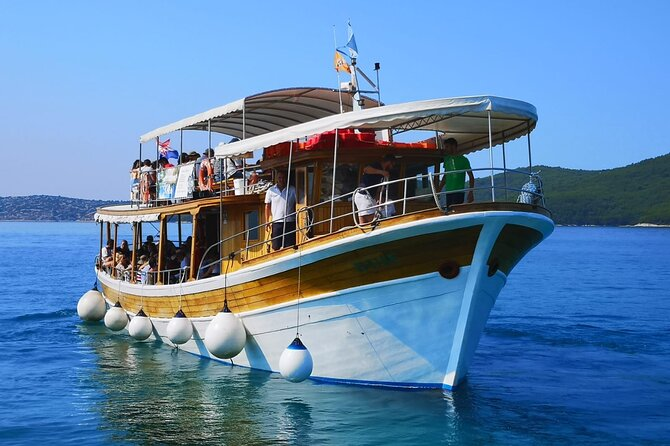 Krka Waterfalls and Šibenik Boat Tour from Split with Lunch & Swimming Included