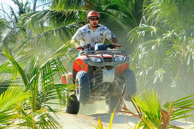 Maroma Beach Adventure Tour: Speedboat or Waverunner Plus ATV Ride