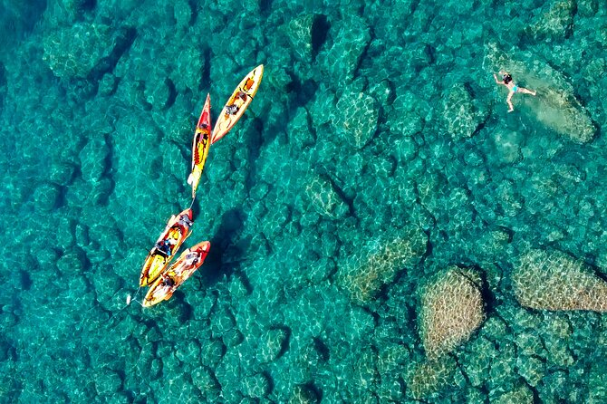 Kayak and Snorkel day tour to la Costa Brava from Barcelona
