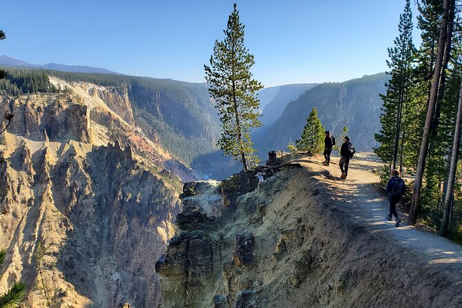Grand Canyon of the Yellowstone Rim and Loop Hike with Lunch