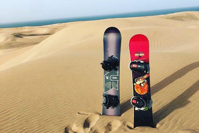 Agadir Sandboarding Half day and Sahara Dunes