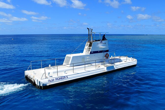 Cruise to Outer Reef - Cruise Return Plus 10 Minute Scenic Flight