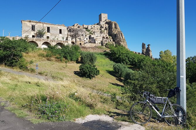 One Day Bike Tour to Craco with Lunch in Farmhouse
