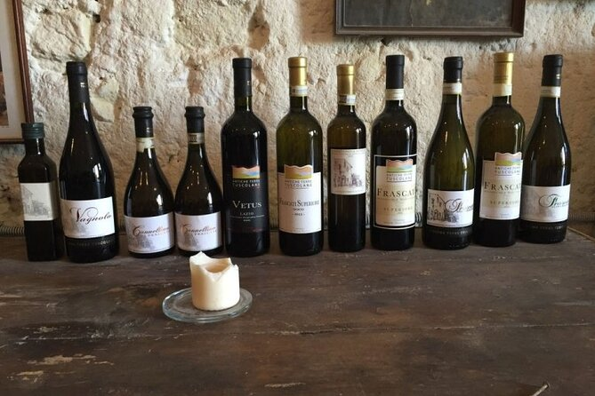 Private Castelli Romani Wine Tour from Rome with Meal