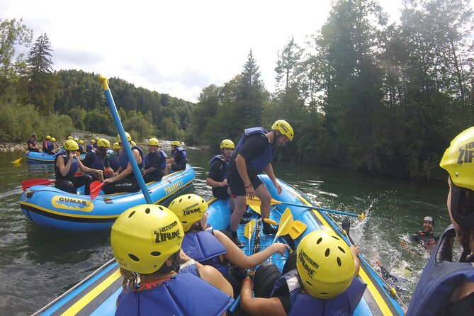 rafting on sava river in bled slovenia, the best rafting trip in the area