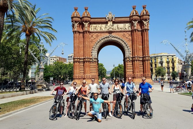 Custom-made Barcelona Private E-bike Tour