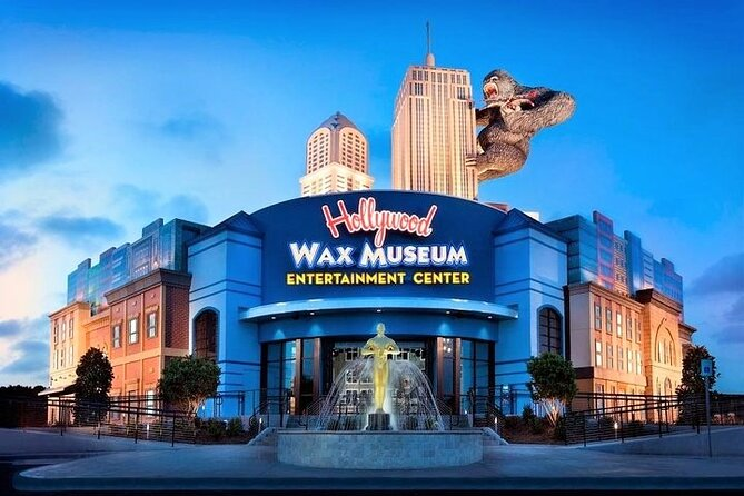 Hollywood Wax Museum Myrtle Beach Admission Ticket