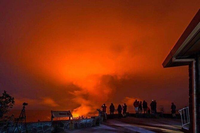 Tour met kleine groepen: Hawaii Deluxe vulkaanervaring met restaurantdiner