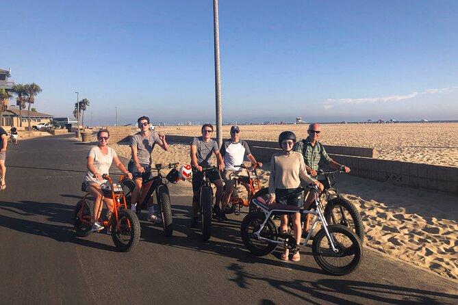 E-Bike in Surf City Huntington Beach, CA