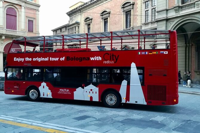 Bologna City Red Bus and Food tasting