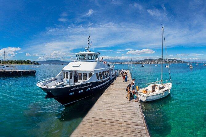 Excursión independiente de un día a la Ile Sainte-Marguerite desde Niza en ferry