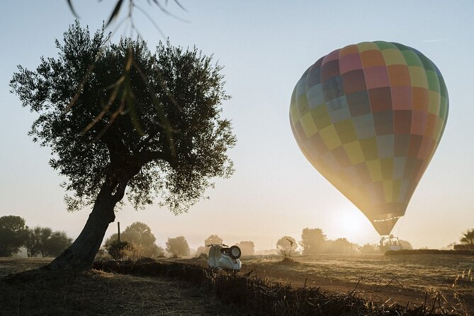 Small Group Hot Air Balloon Flight in Valle d'Itria
