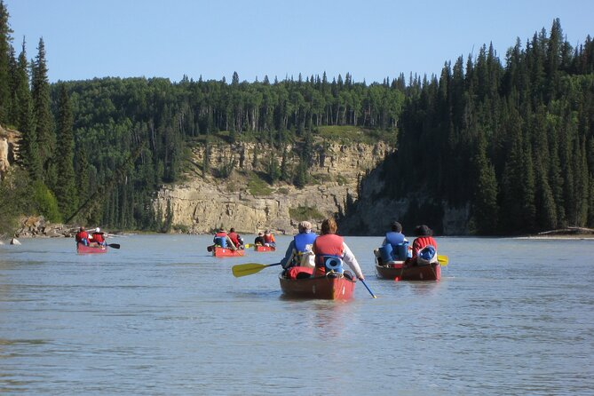 5 Days Guided Canoe Trip Mountain River in Alberta