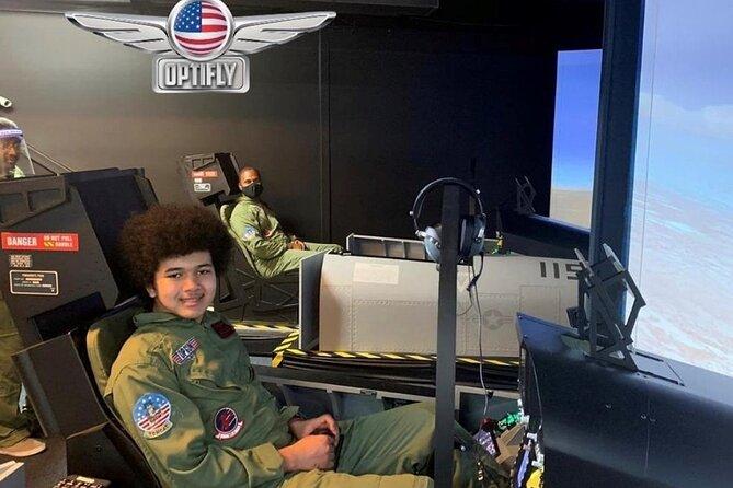 F-18 Super Hornet Super Jet Flying Simulation Experience