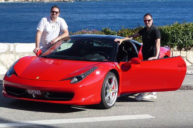 Ferrari Sports Car Experience from Monaco