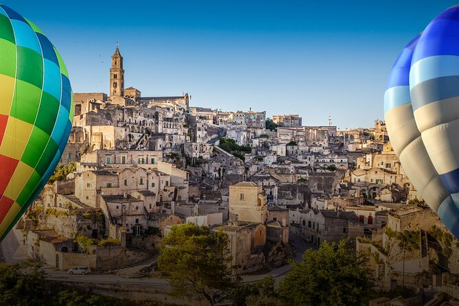 Exclusive Private Hot Air Balloon Flight in Matera with Breakfast