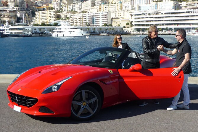 30 Minute Ferrari California T Sports Car Experience from Monaco